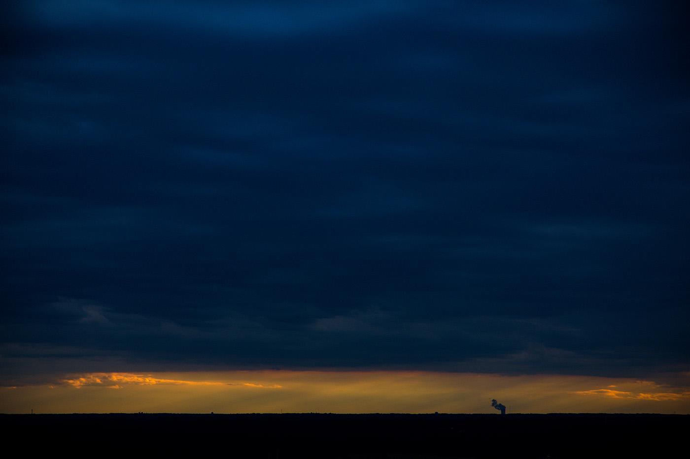 Art Photography: The Raleigh skyline at dusk.
